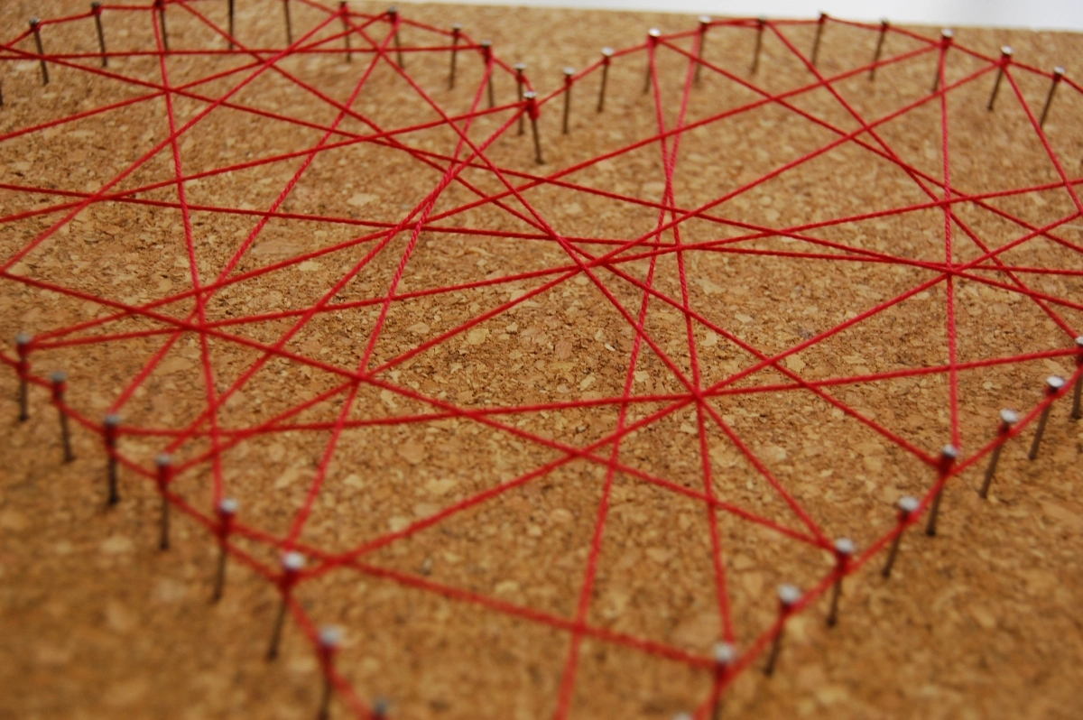 Woodworking Projects For Kids - Nail String Art