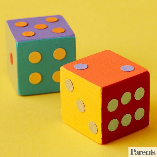 Woodworking Projects For Kids - Wooden Dice