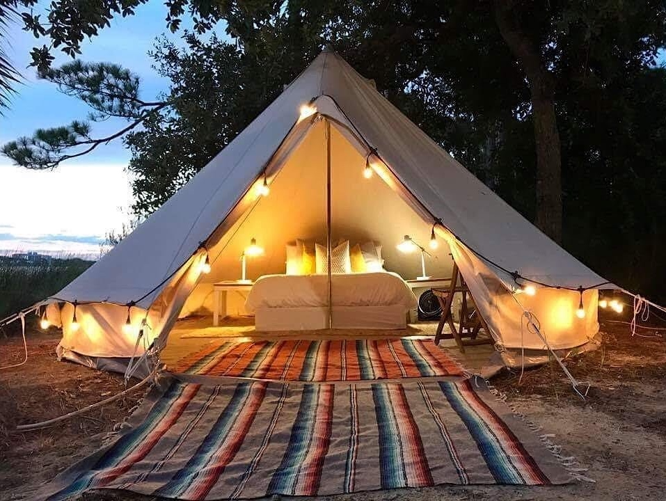 Best Outdoor Décor Ideas For Your Yard - Glamping